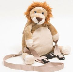 Personalised BoBo Buddies Roary the Lion Toddler Backpack with Reins